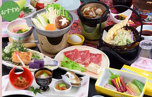 画像:上州牛すき焼き御膳